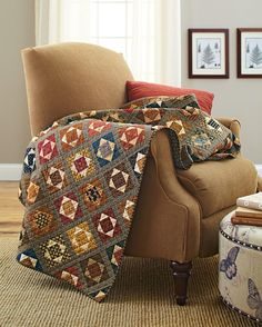 Make the quilt S'mores work for your bed! Download our optional size chart  for the size bed you need, then get quilting!