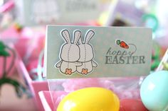 bunny party favors | by mom2sofia