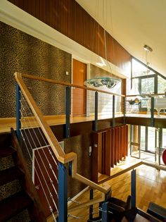 Inspiration & advice for your building project on custom build, planning, build costs, DIY advice and design ideas Leopard Print Wallpaper, Open Plan, Building A House, 1970s, Roots, Home Improvement, Awards, Stairs, Shape
