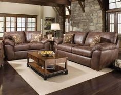 A Sumptuous Frame And Plush Fabric Make The Palance Sable Sofa And Loveseat  Set A Great