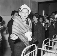 Princess Grace of Monaco, Rome, 1957