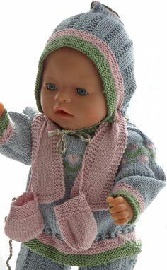 Puppenpullover stricken anleitung