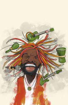 Reggae Art, Reggae Music, Music Lyrics, Good Music, My Music, Rasta Colors, Soundtrack To My Life, Latest Music, Bob Marley