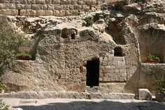 "The most favorite place I've ever been. ""He is not here for He is risen"". Garden Tomb, Israel"