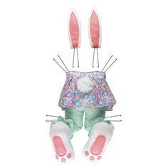 Browse our Plush Girl Bunny Butt and Ears, as well as other Seasonal Wreath Decor Kits, Head, Legs, Butts at Trendy Tree. Monster Wreath, Elf Legs, Turkey Wreath, Scarecrow Wreath, Polka Dot Pants, Polka Dots, Crochet Rabbit, Wreath Supplies, Plush Pattern