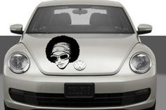 Auto Car Vinyl Decal Disco Woman for Hood Decor Removable Stylish Sticker Unique Design Any Vehicle - Wall Murals - Amazon.com ✿ ✿