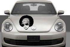Auto Car Vinyl Decal Disco Woman for Hood Decor Removable Stylish Sticker Unique Design Any Vehicle - Wall Murals - Amazon.com ✿ ✿