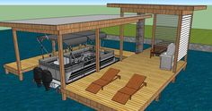 Boat Dock Designs | Horner Construction & Design LLC :: Design