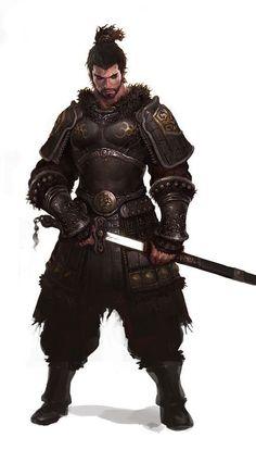 Male, Human, Warrior, Oriental, High