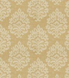 Home Decor Print Fabric- Eaton Square Wilma Butterscotch