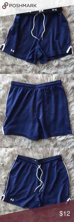 Under Armour Women's Shorts Dark Blue Under Armour Shortd Under Armour Shorts