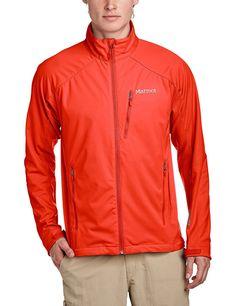 Marmot Leadville Softshell Jacket - Men's Rocket Red/Team Red, XL