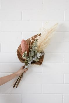 We often get asked how to care for dried flowers and what is their expected lifespan. The answer is simple, with minimal care dried flowers will last you years! Dried Flower Bouquet, Dried Flowers, How To Dry Flowers, Dried Flower Wreaths, Corona Floral, Flower Bar, Dried Flower Arrangements, Arte Floral, Planting Flowers