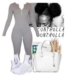 A fashion look from April 2017 featuring grip shoes, michael kors purses and cap hats. Browse and shop related looks. Fall College Outfits, Lazy Outfits, Curvy Outfits, Stylish Outfits, Fashion Outfits, Fashion Tips, Polyvore Outfits, Types Of Fashion Styles, Michael Kors