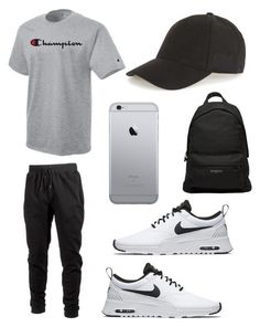 """""""Untitled #135"""" by wleners on Polyvore featuring Champion, Ideology, NIKE, Balenciaga, Topman, men's fashion and menswear"""