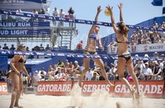 AVP pro beach volleyball players return to action this weekend