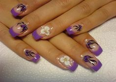 Purple Nail Designs | DownloadEasy Nail Designs For Short Nails Purple Acrylic