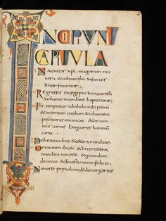 Genève, Bibliothèque de Genève, Ms. lat. 6, f. 16r – The four Latin Gospels (http://www.e-codices.unifr.ch/en/list/one/bge/lat0006)