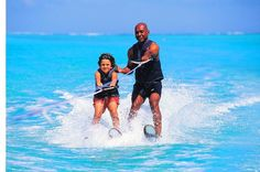 Mauritius offers you to enjoy water skiing in maximum safety with the guideless  Book your tickets with Daily Fixed Departur
