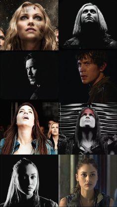 Season Season 5 core four The 100 Tv Series, The 100 Show, Cw Series, Series Movies, The 100 Poster, The 100 Characters, The 100 Clexa, Bellarke, The Hundreds