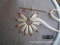 hand embroidery stitches tutorial hand embroidery stitches tutorial You can find Stitches and more on our website. Etsy Embroidery, Embroidery Stitches Tutorial, Embroidery Flowers Pattern, Machine Embroidery Patterns, Hand Embroidery Designs, Embroidery Techniques, Embroidery Ideas, Wedding Embroidery, Ribbon Embroidery