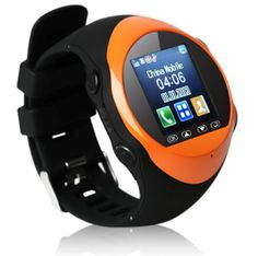 Genuine! smart watches smartphone Bluetooth GPRS  1.54 inch MTK 6253 Android can connect and receive calls  Digital Watch $89.95
