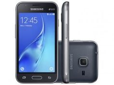 "Smartphone Samsung Galaxy J1 Mini 8GB Preto - Dual Chip 3G Câm. 5MP Tela 4"" Quad Core Desbl. Oi"