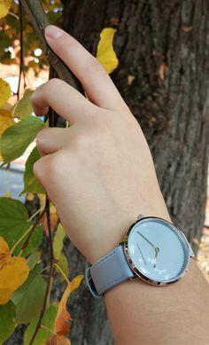 Adora Design Damenuhr € Wood Watch, Accessories, Design, Fashion, Leather Cord, Clock, Wooden Clock, Moda, Fashion Styles