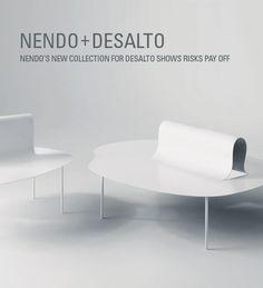 New #Illuminate Post! Nendo + Desalto create inexplicable moments and visceral reactions.