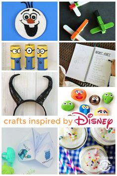 Disney Crafts! These are so much fun!