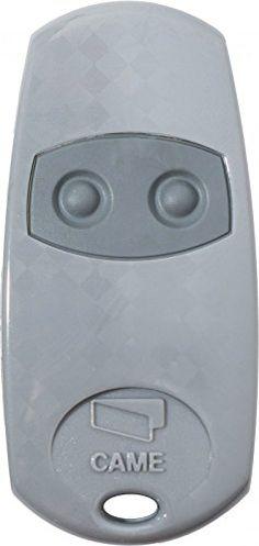 Télécommande came top432ee: Télécommande TOP432EE de marque CAME - 2 boutons - fréquence 433.920 Mhz - 2 piles CR2016 et notice fournies. -…