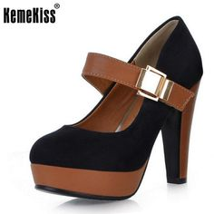 KemeKiss Women Pumps Woman High Heel Shoes High Quality Casual Lady Pumps  Women Sexy Party Office Ladys Fashion Shoes Size 34 43-in Women s Pumps  from Shoes ... 81e94556d3bf