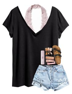 """Comment something nice about the person who commented before you"" by southerngirl03 ❤ liked on Polyvore featuring Free People, H&M and Birkenstock"