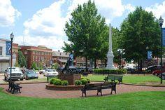 Abbeville Square, Abbeville, South Carolina