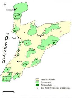 Réserve de la biosphère de l'arganeraie de l'UNESCO au #Maroc #Morocco