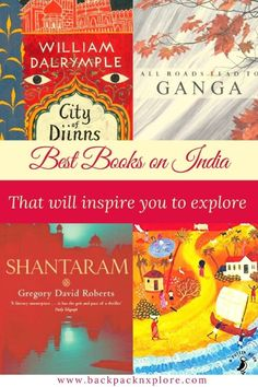 Best books in India that will help you know the country better and inspire you to travel to this sacred land. #travel #books #amazon #kindle Gregory David Roberts, Sea Of Poppies, Backpacking Asia, Virtual Travel, Photos Voyages, Travel Guides, Travel Tips, Travel Destinations, India Travel