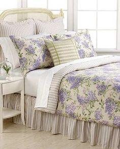 Image detail for -Ralph Lauren Cape Elizabeth Lilac Queen Comforter Set | eBay