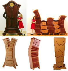 Alice in Wonderland furniture