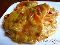 Pumpkin scalloped sweet potatoes, #Potatoes, #Pumpkin, #Scalloped, #Sweet