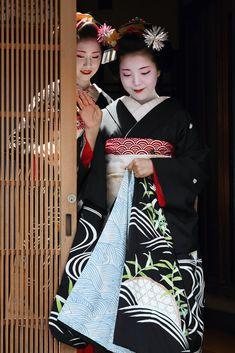 Beautiful moment, Gion, Higashiyama, Kyoto, Japan