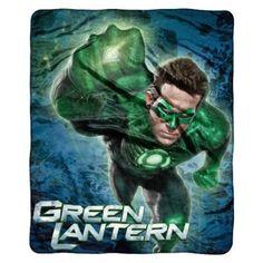 Green Lantern Throw, At Target, $14.09.