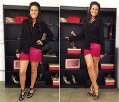 Pri Whitaker com sandálias Shoes4you! Compre no site: http://shoes4you.com.br