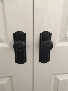 Antique door handles. http://www.restorationonline.com.au/antique-copper-kensington-door-handle-range