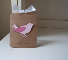 Bird Baby Shower Invitations Girl Pink Thank You Notes VIntage Shabby Chic by CardinalBoutique on Etsy