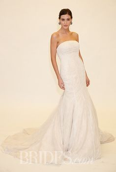 Brides.com: Truly Zac Posen - Spring 2014. Wedding dress by Truly Zac Posen for David's Bridal