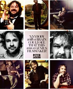 """l-o-t-r: *HAPPY BIRTHDAY* Peter 'The Jackson (10/31/1961) """"Everybody's life has these moments, where one thing leads to another. Some are big and obvious and some are small and seemingly insignificant.""""~ Peter Jackson"""