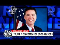 'Real News Tonight' Tackles James Comey | The President's favorite fake news program 'Real News Tonight' cheers him up with another feelgood report.