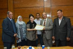 Assiut University|University News|Assiut University gives certificates to the students of the Russian Universities (Pyatigorsk and Dagestan) at the end of the period of their study
