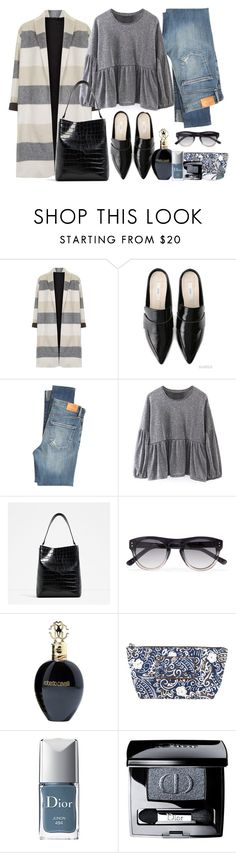 """""""Sin título #1825"""" by mussedechocolate ❤ liked on Polyvore featuring Topshop, Citizens of Humanity, 3.1 Phillip Lim, Roberto Cavalli, Marc Jacobs, Christian Dior and Miss Selfridge"""