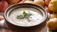 Soupe de pommes de terre maison